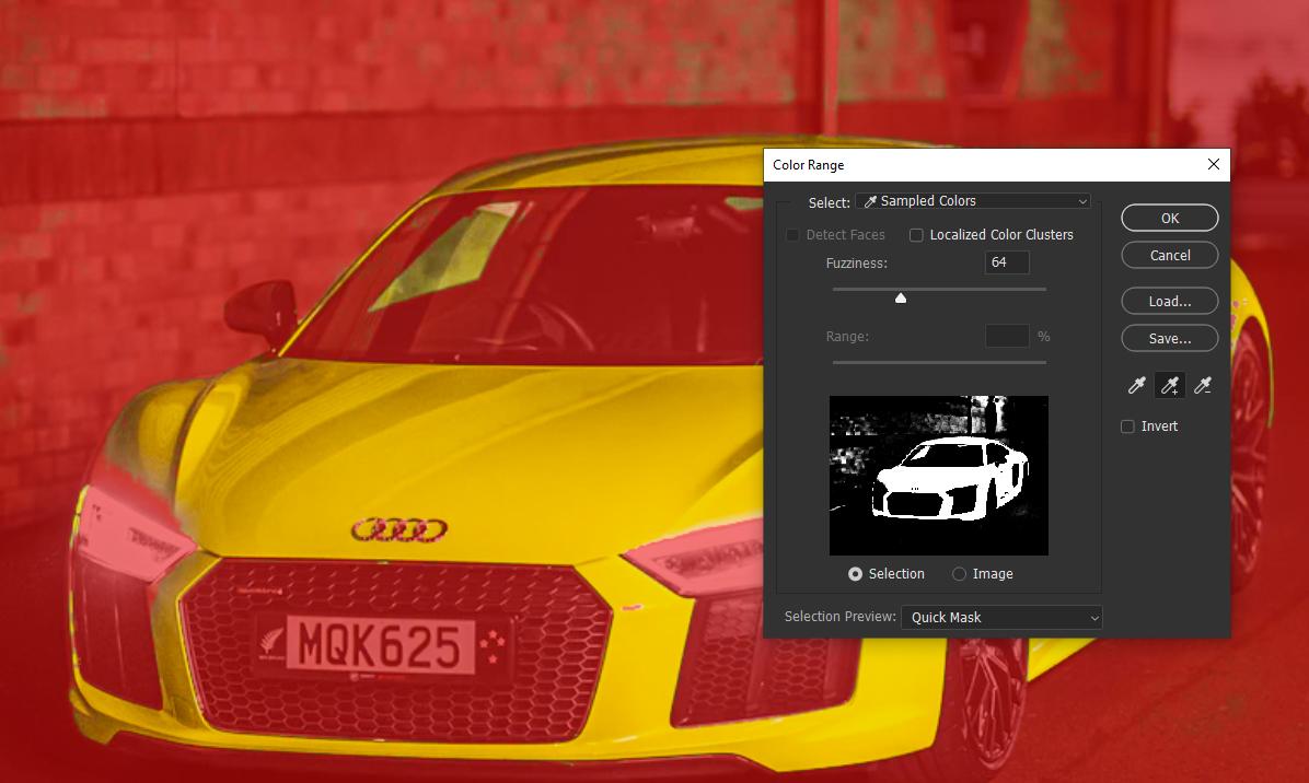 color range option in photoshop