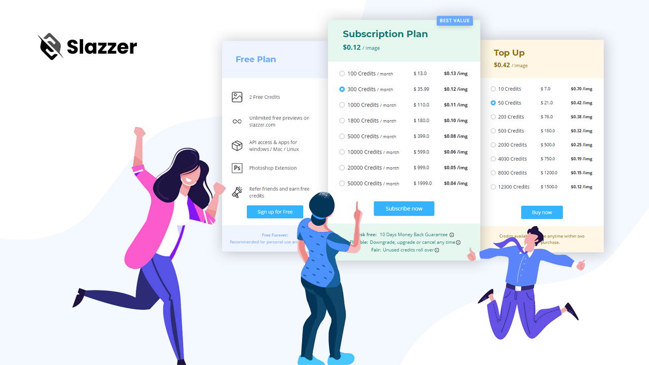 slazzer-pricing-plan-subscription-and-top-up-plan