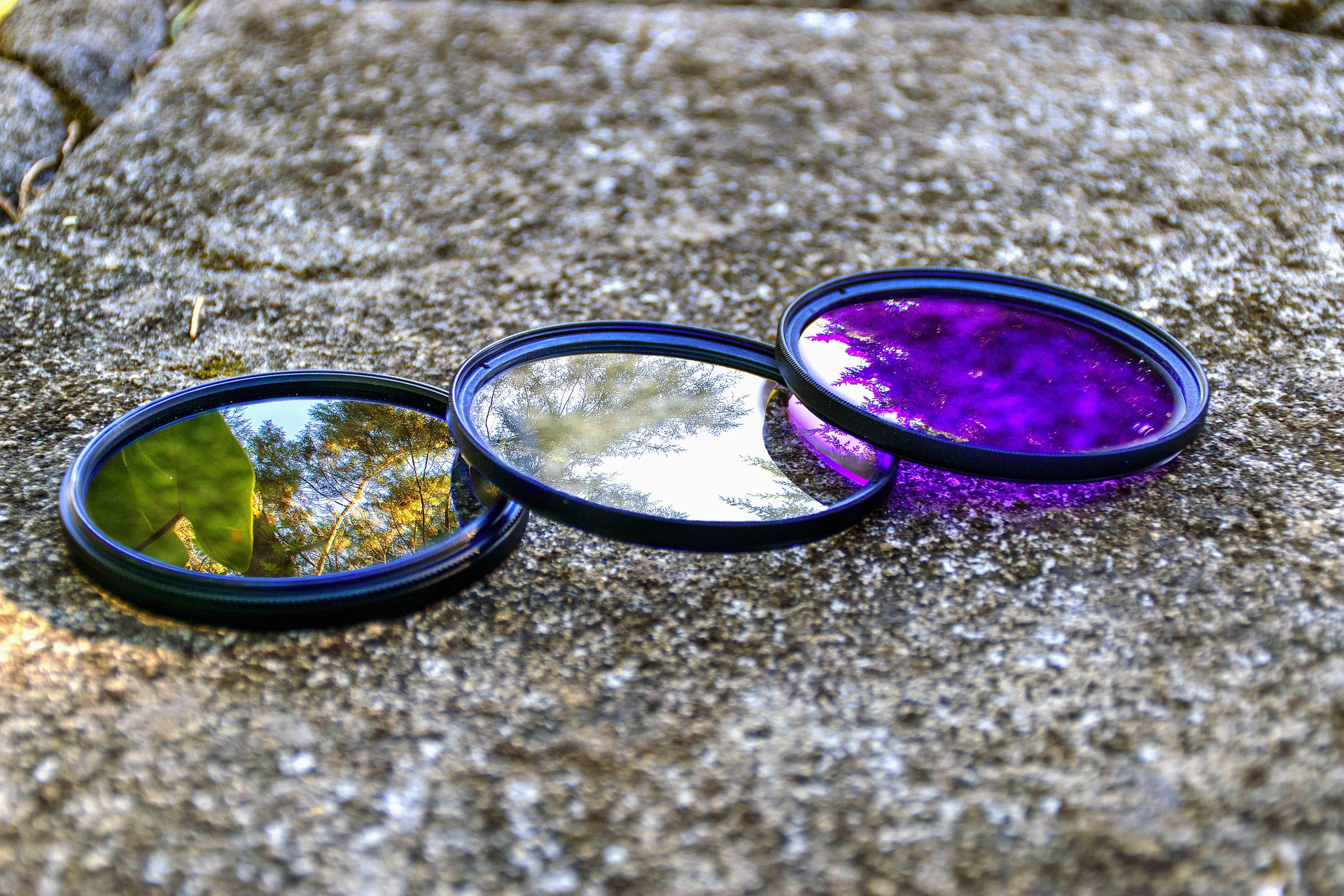 lens filter for product photography