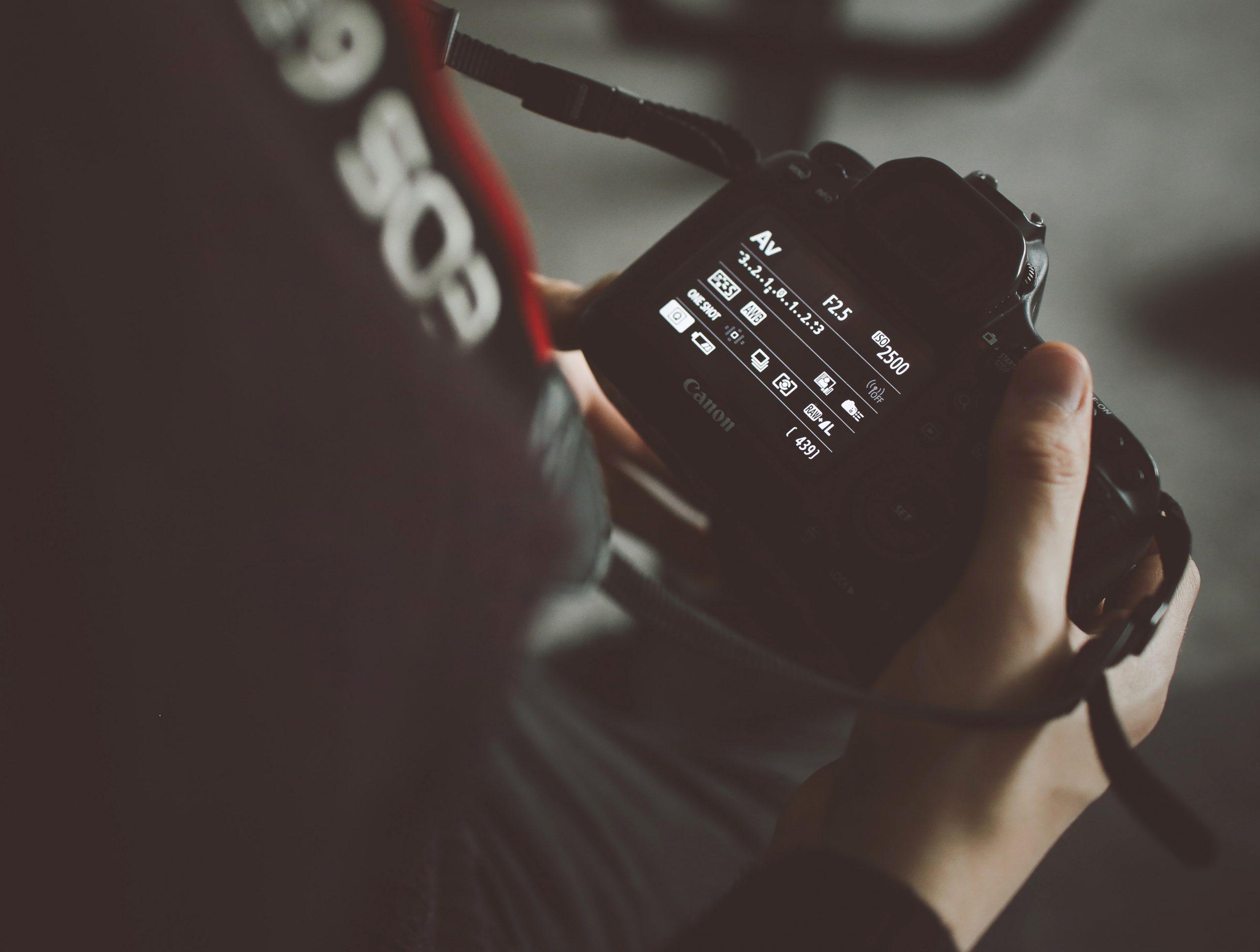 camera settings manual